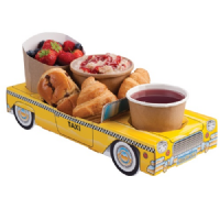 New York Yellow Taxi Cab Combi Meal Party Box Tray